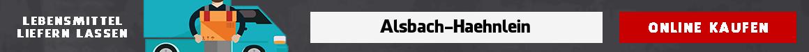 lebensmittel bringdienst Alsbach-Hähnlein