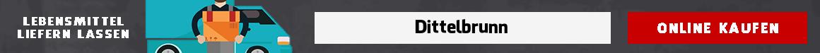 lebensmittel bringdienst Dittelbrunn