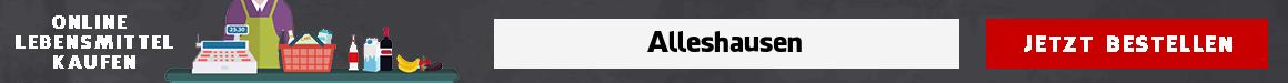 lebensmittel lieferservice Alleshausen